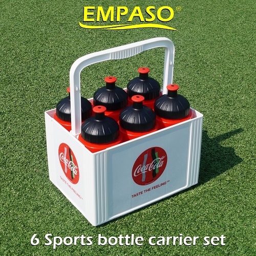 EMPASO 6 sports bottle carrier set