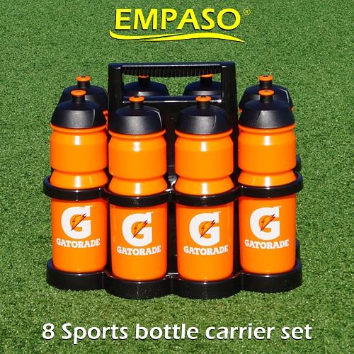 EMPASO 8 sports bottle carrier set