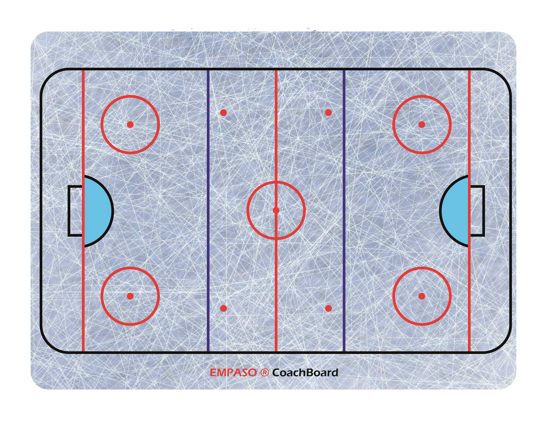 EMPASO Coach board - Coach Tactical Board – Ice Hockey Coaching Board
