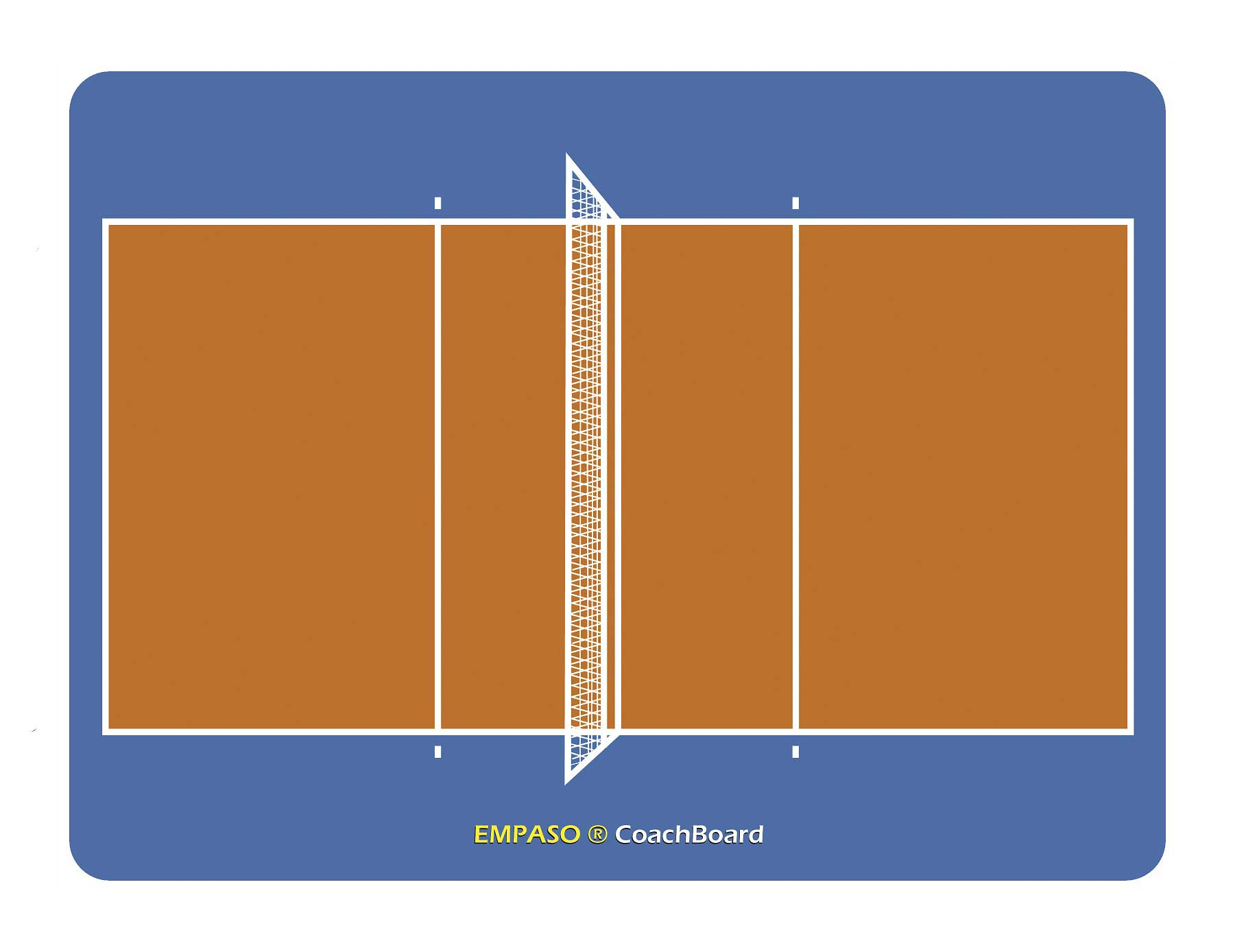 EMPASO Coach board - Coach Tactical Board – volleyball Coaching Board