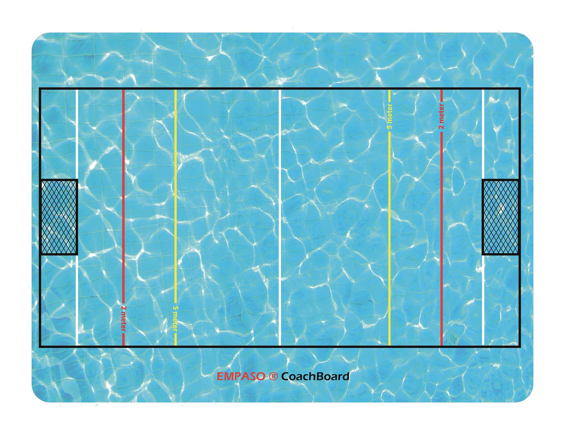 EMPASO Coach board - Coach Tactical Board – Waterpolo Coaching Board