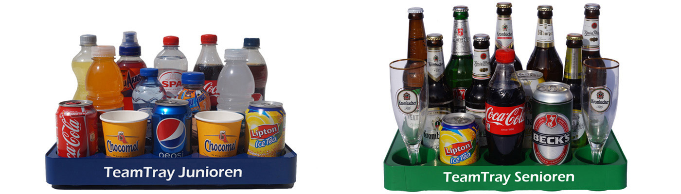 TeamTray - Team tray - beer tray - tray for drinks