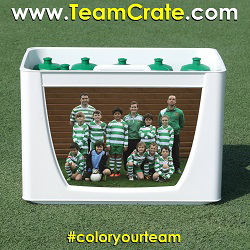 EMPASO 12 TeamCrate – Bottles crate football – Sports bottles carrier football