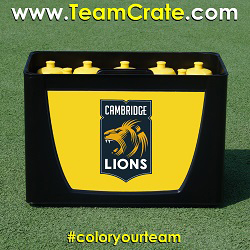 EMPASO 12 TeamCrate – Bottles crate football – Sports bottles carrier ice hockey