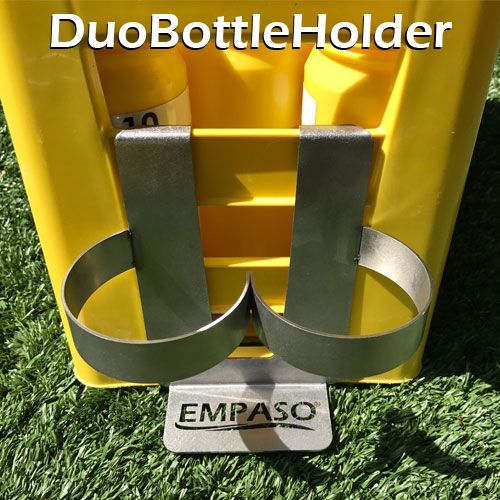 EMPASO TeamCrate - DuoBottleHolder for sports bottle carrier