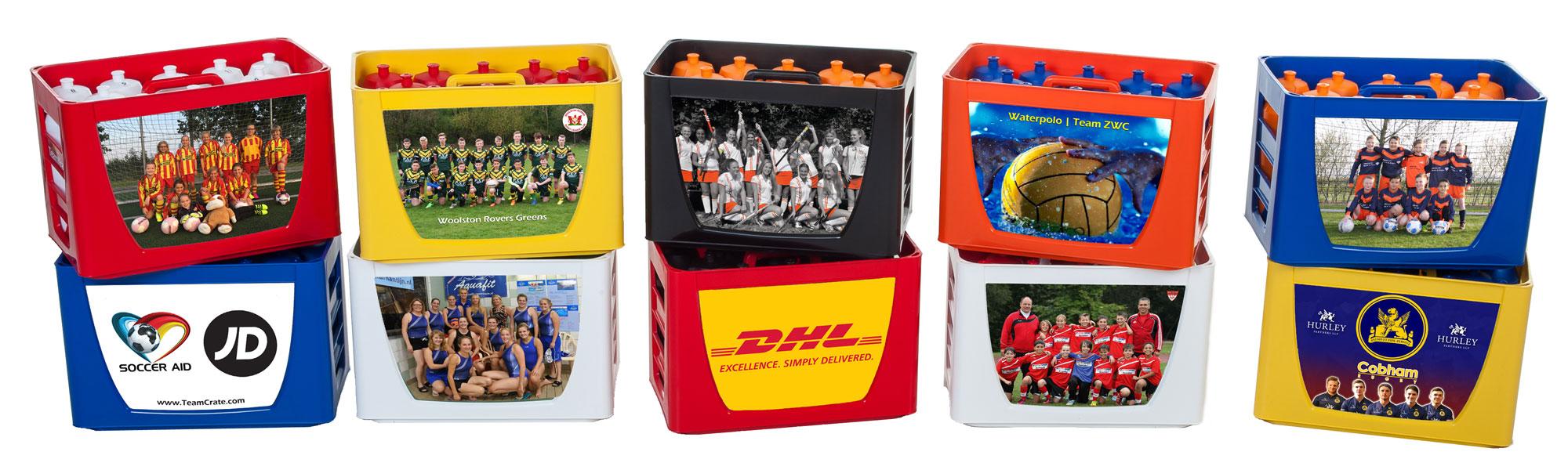 Sports bottle carrier set - EMPASO TeamCrate