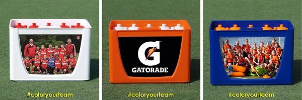 sports bottle carrier - football bottles carrier set - football bottles TeamCrate