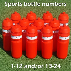 EMPASO TeamCrate - sports bottle numbers
