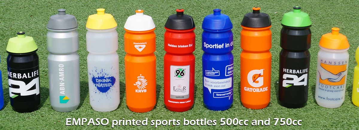 EMPASO TeamCrate - Printed sports bottles