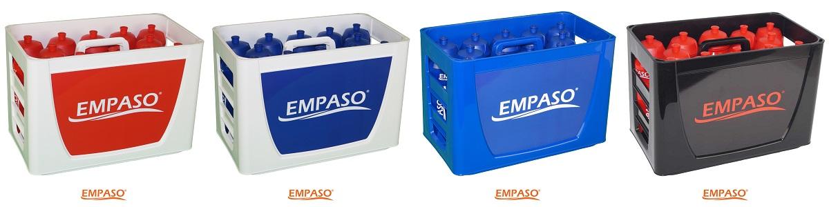 EMPASO TeamCrate sports bottle carrier set 12 sports bottles