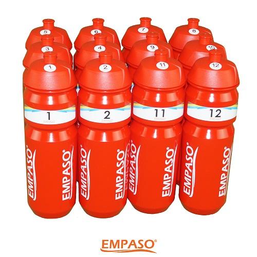 EMPASO SHOP - TeamCrate set 12 sport bottles
