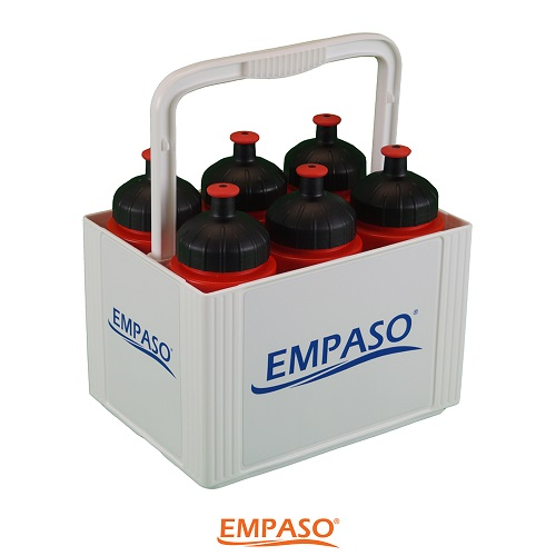 6 Sports bottles carrier set - EMPASO TeamCrate MINI