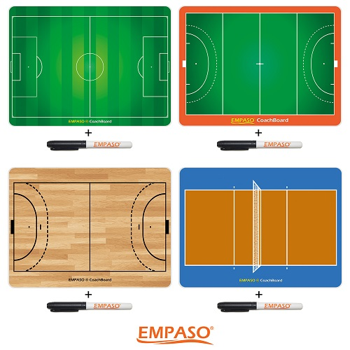 Sports bottles carrier set - EMPASO TeamCrate CoachBoard