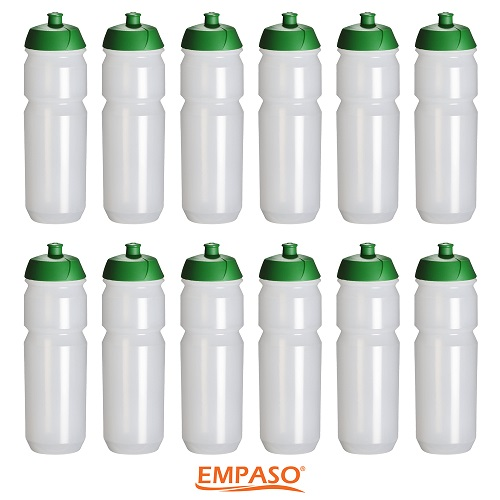 Set 12 sports bottles - bottle carrier 12 water bottles - EMPASO