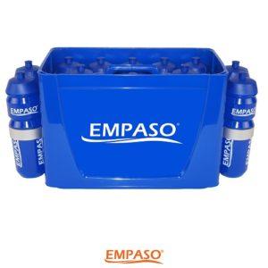 TeamCrate 16 Sports bottle carrier set - sports water bottles carrier - 16 football bottles