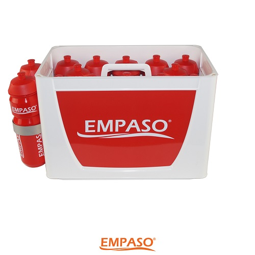 EMPASO TeamCrate 14 sports bottle carrier set