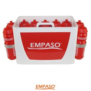 16 Sports bottle carrier set - sports water bottles carrier - 16 football bottles