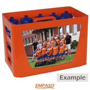 Personalised TeamCrate - Sport bottle carrier set - sports water bottles carrier - footba